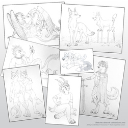 Convention sketches - part 2