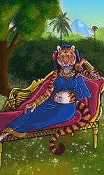 Queen of Coins Tarot Card