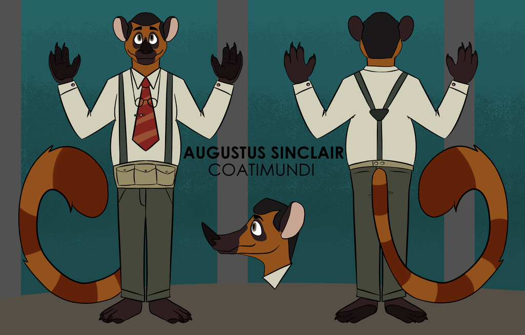 sinclair except hes a furry