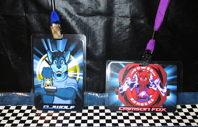 March 2015 Conbadges - Wave 2 (Morphing Time)