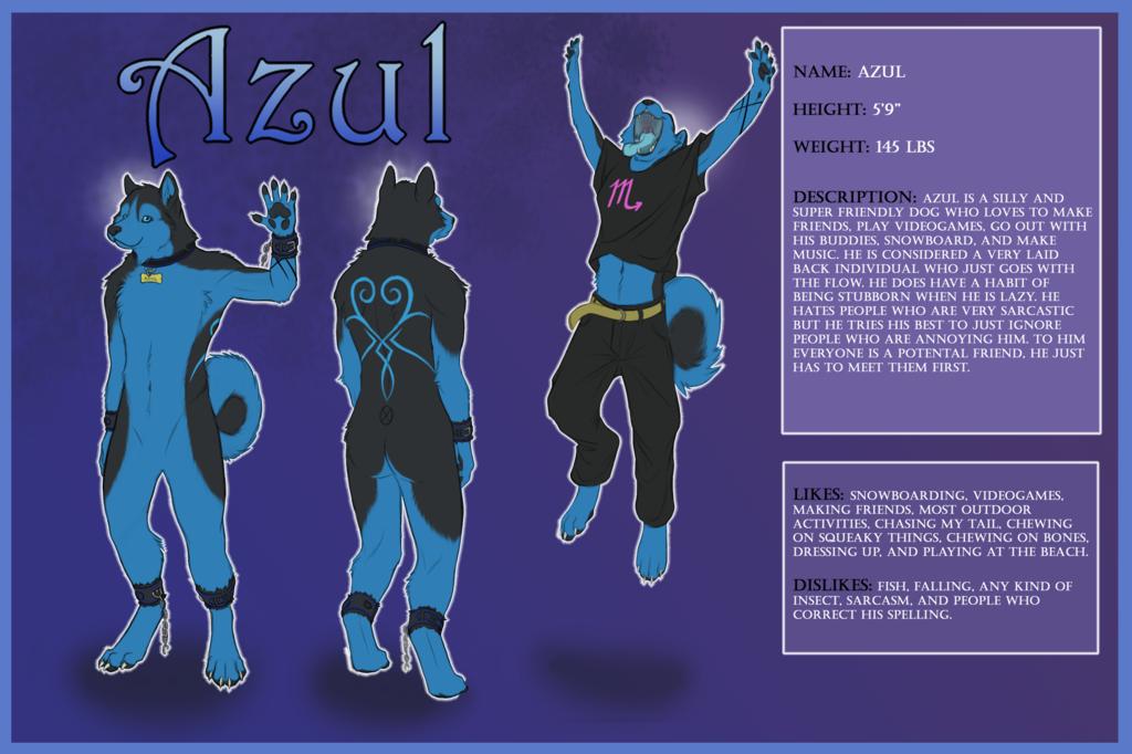 Reference Sheet -- Azul