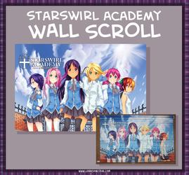 Starswirl Academy: Class Photo Wall Scroll
