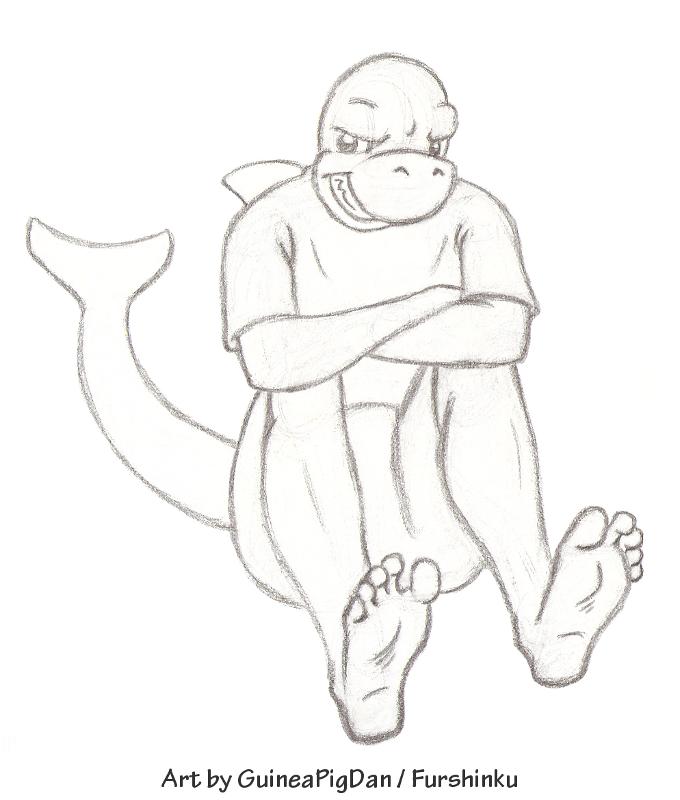 Sharkie dude