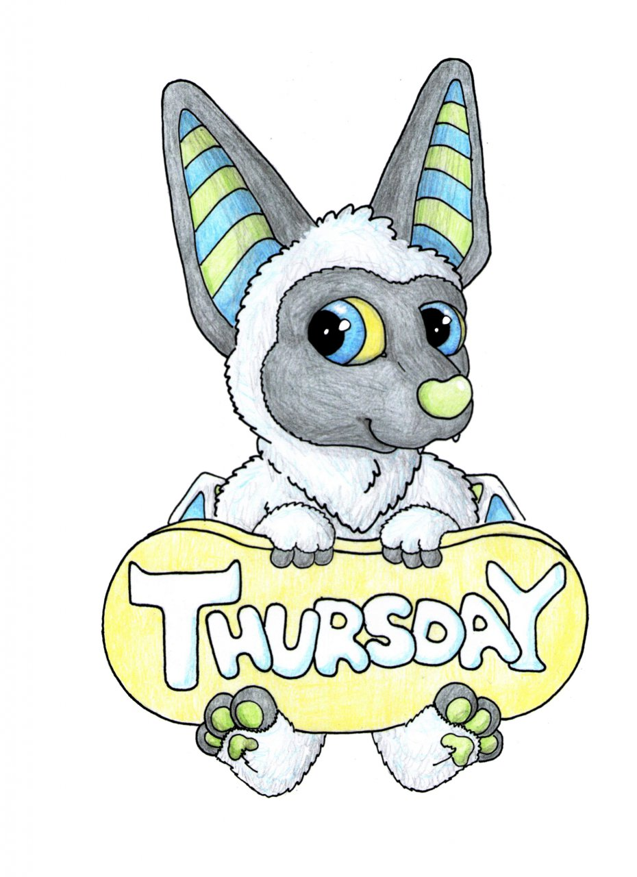 Most recent image: Thusday badge version