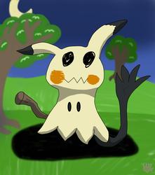 Mimikyu Says Hello