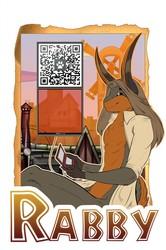 Rabbitman - Badge
