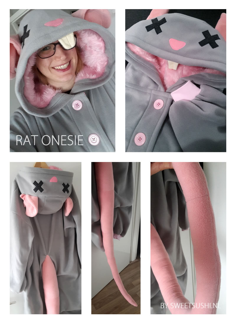 Custom Onesie ♥ Rat
