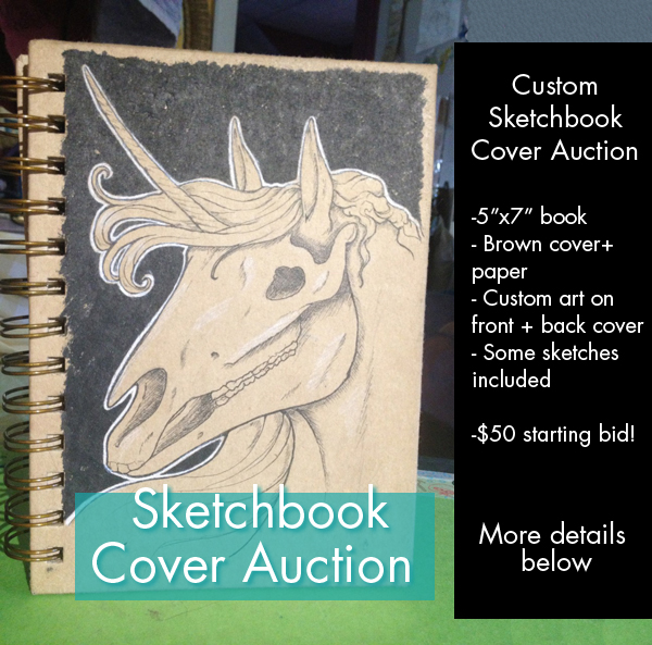 Sketchbook Commission Auction [closed]