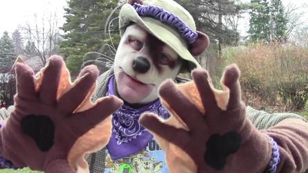 Otter costume paws pic (pre-MFF pic dump!)