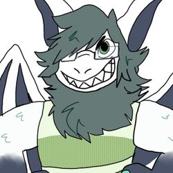 [TotoTheHyena] Green Dress Dragon