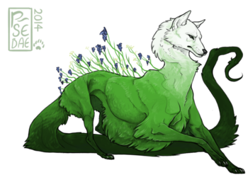 Overlay Style -- A Forest Spirit