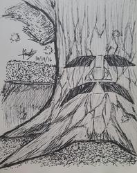 "Inktober 2016 - Day 14 ""Tree"""