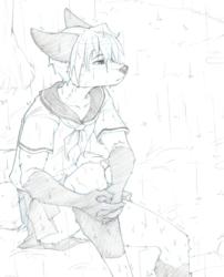 [CM] Kelix Seifuku Rough Sketch