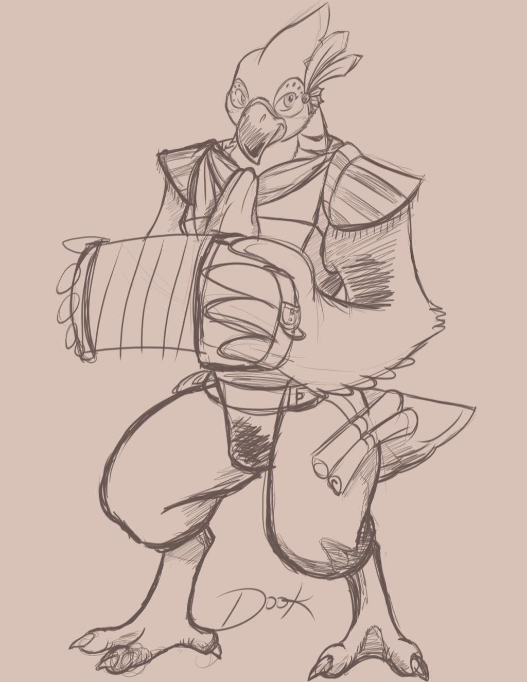 Kass - Warmup Sketch