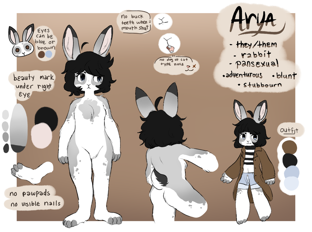 [OUTDATED] Fursona ref