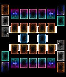 Yu-Gi-Oh! Playmat Template - Link Era Double Playmat V2