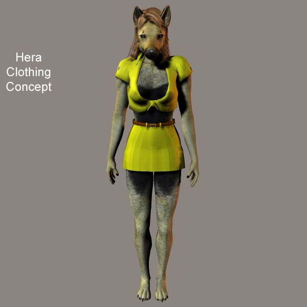 Hera Minidress