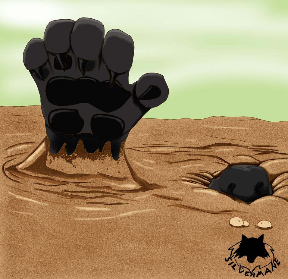 Winterfall Werewolf in Quicksand