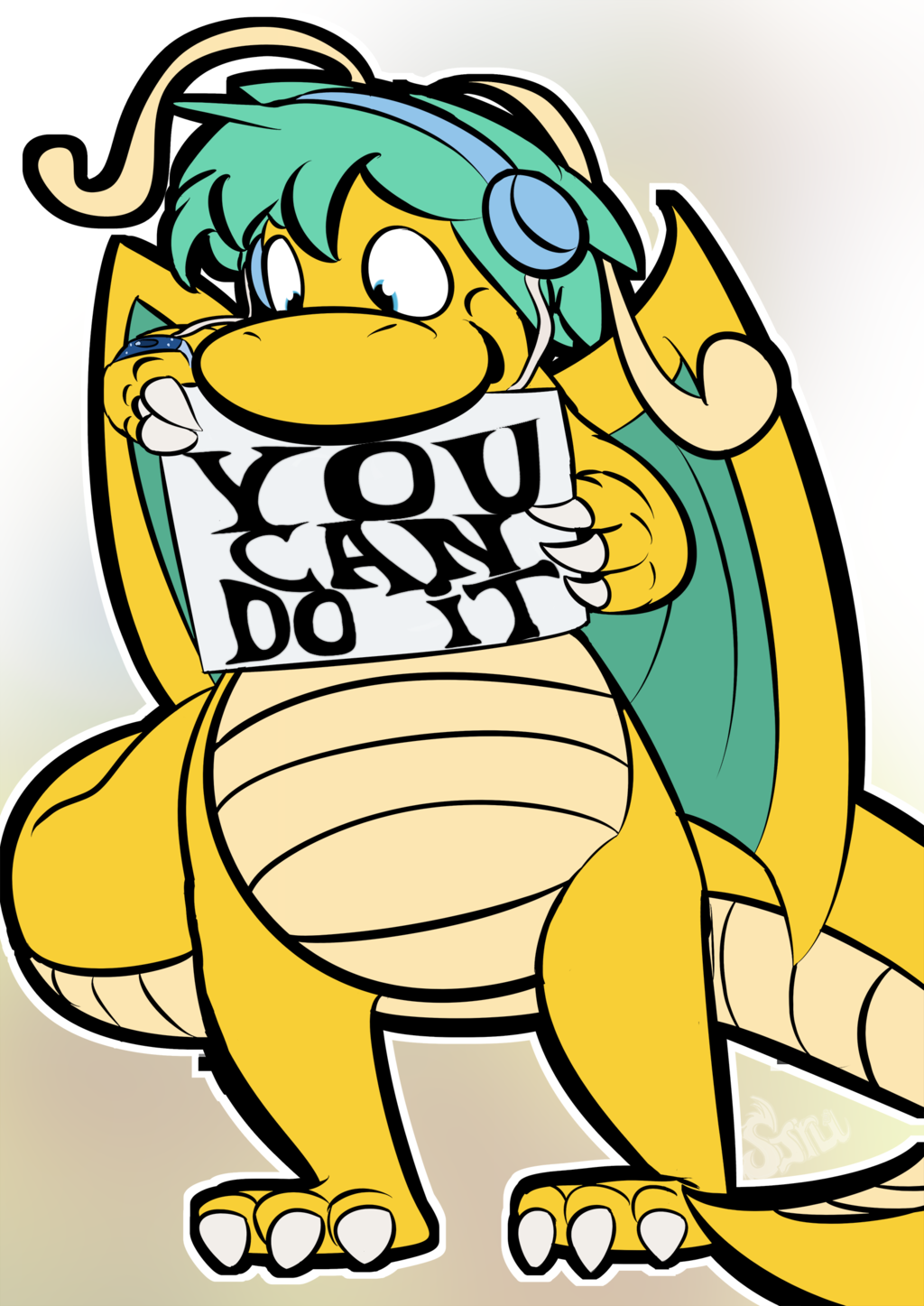 Most recent image: You can do it!