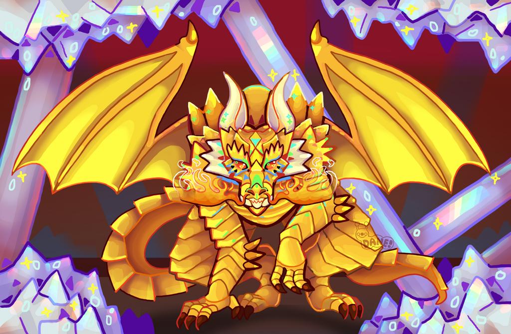 Crystal Cave Dragon