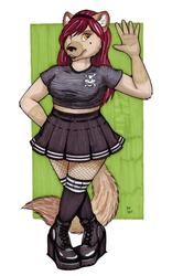 Gothy Schoolgirl?