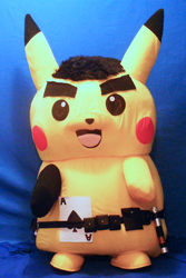 Ace Spade the Pikachu (Live-Action/Mascot) Reference, August 2020