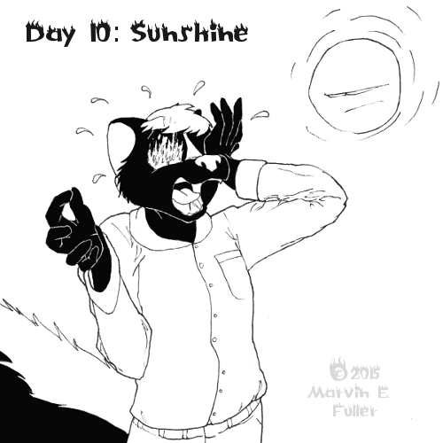 Daily Sketch 10 - Sunshine