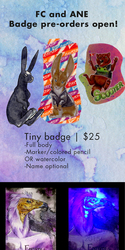FC and ANE Badge Pre-Orders OPEN