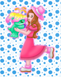 Mimi and Palmon (Digimon)