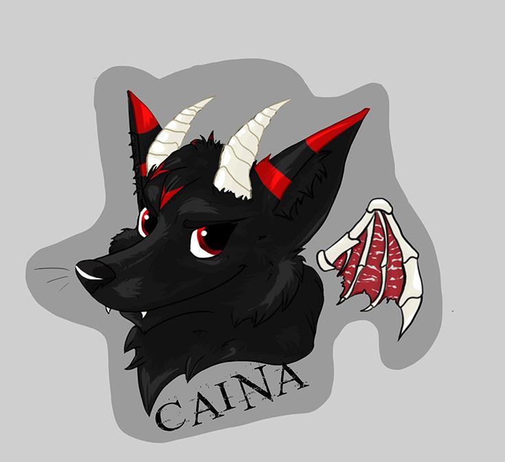 COMM: Caina Badge