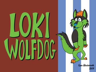Gift Art for Loki Wolfdog