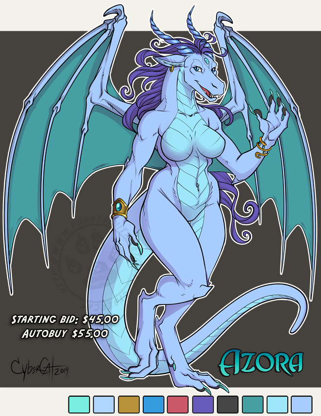 Azora Adoptable Dragon Starting Bid $45