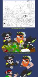 Scraped Pirate picture