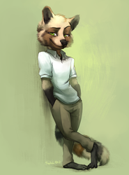 Looking Sly For a Raccoon - By Siplick