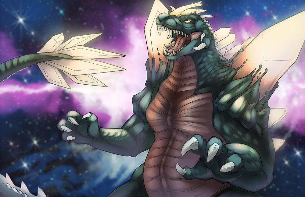 Sketch Dailies- Space Godzilla