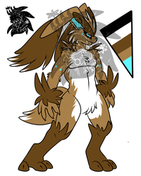 Male Lopunny +Design+ (SOLD)