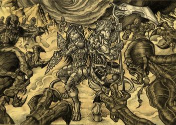 Nyxal & Jinxatron VS The Evil Mummies From the Dark Mountain