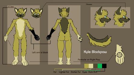 Kyle Blackpaw - Refsheet
