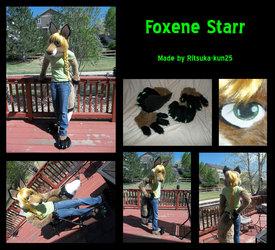 Foxene fursuit