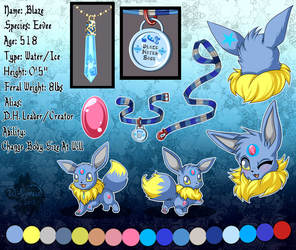 blaze vee ref sheet BEST