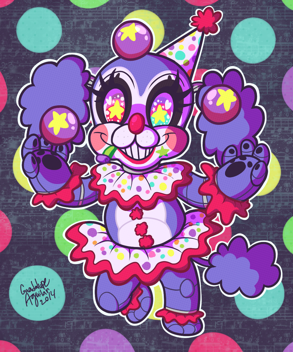 Jubilee the Party Clown Poodle