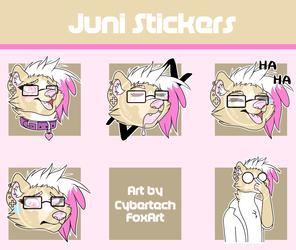 [CM] Juni Telegram Stickers
