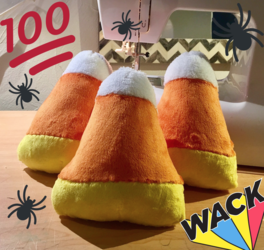 ALMOST GONE! FREE Candy Corn Plushies!