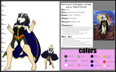 Dark Collie Model Sheet (No Nude)