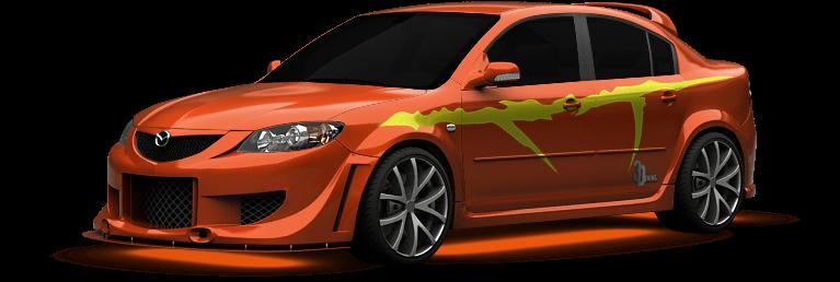 Mazda 3 shot 1