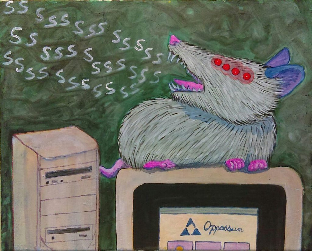 Most recent image: Opossum Modem