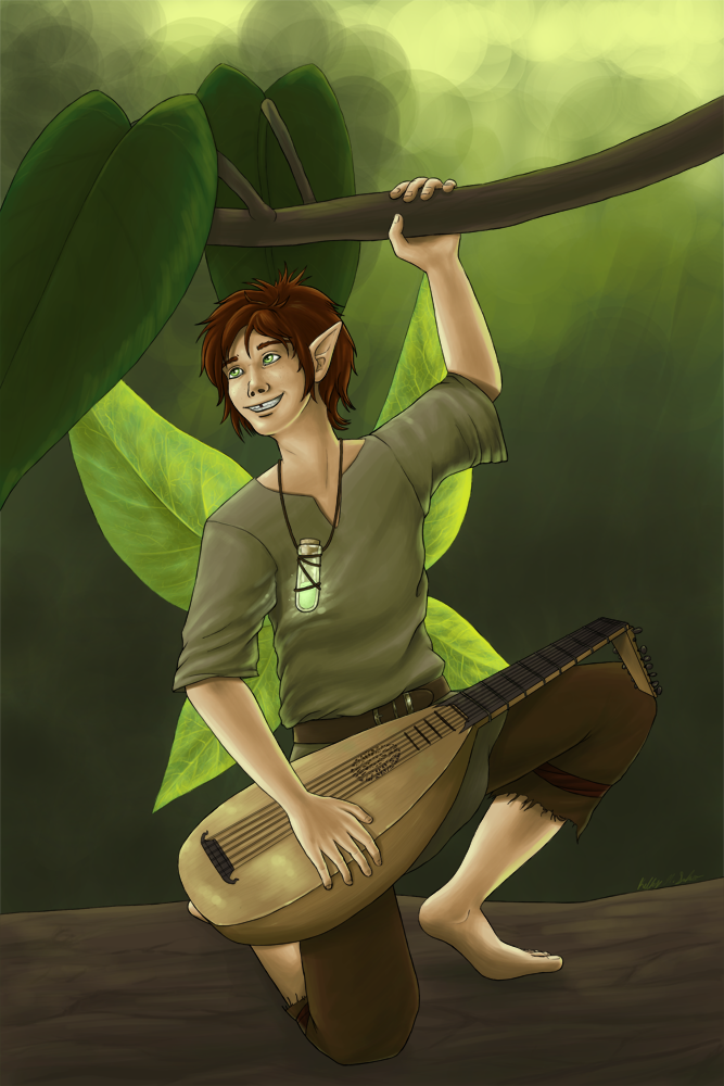Most recent image: Steven the Pixie Bard