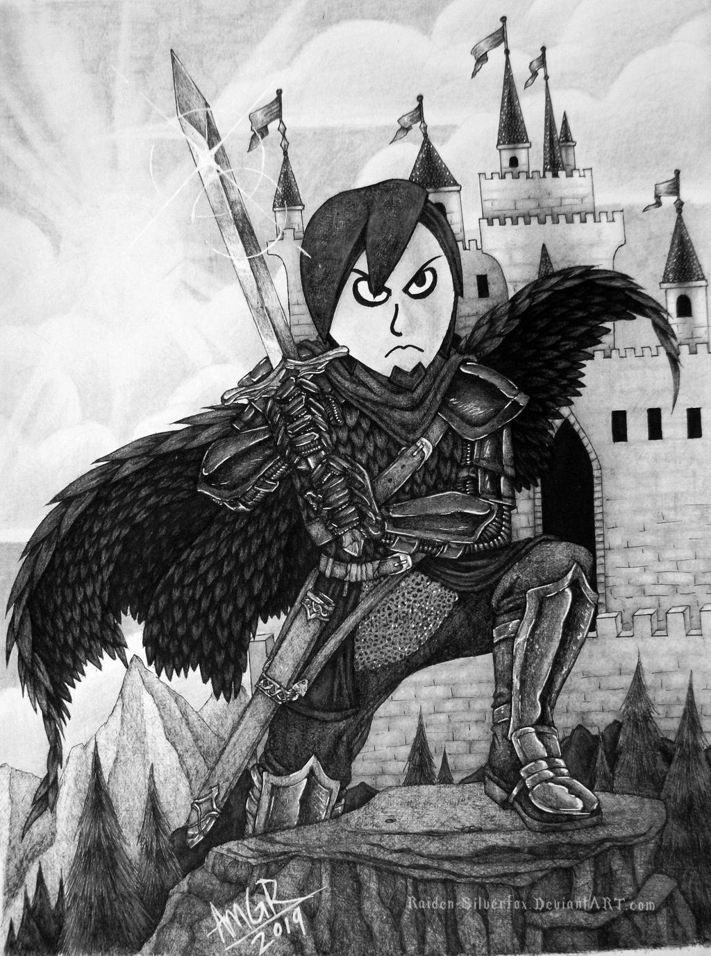Most recent image: Miitopia - Raven the Warrior
