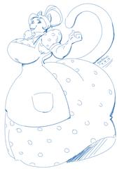 Comm - Big Catwife