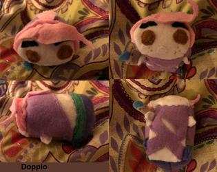 Jojo's Bizarre Adventure Doppio Stacking Tsum Plush commission for jyaki